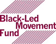 Black-Led Movement Fund logo maroon