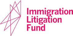 Immigration Litigation Fund logo pink