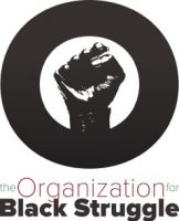 The organization for Black struggle logo