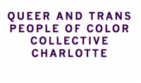 Queer and Trans People of Color Collective Charlotte Logo