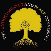 The undocumented and black convening logo