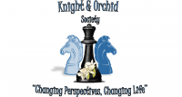 The Knights and Orchid Society Logo