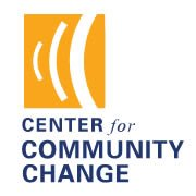 Center for Community Change logo