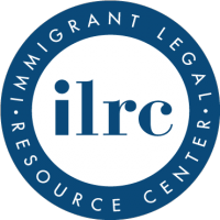 logo for the Immigrant Legal Resource Center