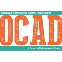 Organized Communities Against Deportations logo