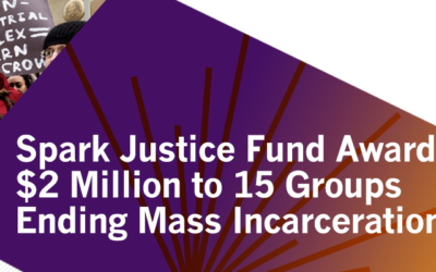 Spark Justice Fund Awards More Than $2 Million to 15 Organizations and Refines Mission to Reflect the Movement